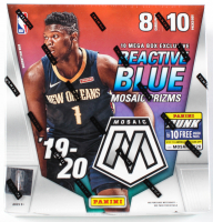 2019-20 Panini Mosaic Basketball Mega Box of (80) Cards at PristineAuction.com