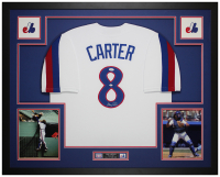 Gary Carter Signed 35x43 Custom Framed Jersey (JSA COA) at PristineAuction.com