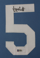 George Brett Signed 35x43 Custom Framed Jersey (Beckett COA) at PristineAuction.com