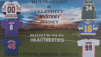 OKAUTHENTICS Multisport & Celebrity Jersey Mystery Box - Series VII at PristineAuction.com