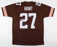Kareem Hunt Signed Jersey (JSA COA) at PristineAuction.com