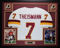 "Joe Theismann Signed 35x43 Custom Framed Jersey Inscribed ""83 MVP"" (JSA COA) at PristineAuction.com"
