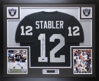 Ken Stabler Signed 35x43 Custom Framed Jersey (Radtke COA) at PristineAuction.com