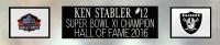 Ken Stabler Signed 35x43 Custom Framed Jersey (Radtke COA) at PristineAuction.com