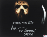 """Ari Lehman Signed """"Friday the 13th"""" 11x14 Photo Inscribed """"Friday the 13th"""", """"OG Jammin!"""" & """"Jason"""" (PA COA) at PristineAuction.com"""