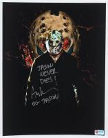 "Ari Lehman Signed ""Friday the 13th"" 11x14 Photo Inscribed ""Jason Never Dies!"" & ""OG Jason"" (PA COA) at PristineAuction.com"