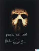 """Ari Lehman Signed """"Friday the 13th"""" 11x14 Photo Inscribed """"Friday the 13th"""" & """"Jason 1"""" (PA COA) at PristineAuction.com"""