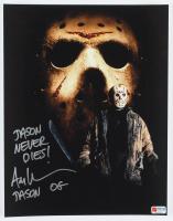 "Ari Lehman Signed ""Friday the 13th"" 11x14 Photo Inscribed ""Jason Never Dies!"" & ""Jason OG"" (PA COA) at PristineAuction.com"