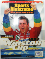 "Jeff Gordon Signed 1997 ""Sports Illustrated Presents: 1997 Winston Cup"" Magazine (PSA Hologram) at PristineAuction.com"