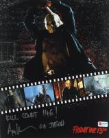 "Ari Lehman Signed ""Friday the 13th"" 11x14 Photo Inscribed ""Kill Count 146!"" & ""OG Jason"" (PA COA) at PristineAuction.com"
