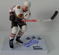 "Jonathan Toews Signed Blackhawks 6"" Figurine (JSA Hologram) at PristineAuction.com"