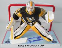 """Matt Murray Signed Penguins LE 6"""" Figurine (JSA Hologram) at PristineAuction.com"""