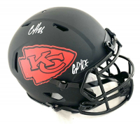 """Clyde Edwards-Helaire Signed Chiefs Full-Size Authentic On-Field Eclipse Alternate Speed Helmet Inscribed """"Glyde"""" (JSA COA) at PristineAuction.com"""