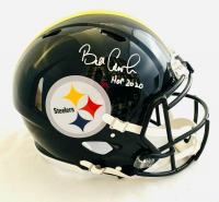"Bill Cowher Signed Steelers Full-Size Authentic On-Field Speed Helmet Inscribed ""HOF 2020"" (JSA COA) at PristineAuction.com"