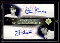Don Larsen / Yogi Berra 2005 Ultimate Signature Signs of October Dual Autograph #LB (Encapsulated) at PristineAuction.com