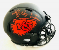 "Christian Okoye Signed Chiefs Full-Size Authentic On-Field Eclipse Alternate Speed Helmet Inscribed ""Nigerian Nightmare"" (JSA COA) at PristineAuction.com"