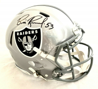 Bill Romanowski Signed Raiders Full-Size Authentic On-Field Speed Helmet (Beckett COA) at PristineAuction.com