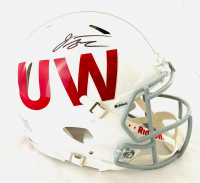 Jonathan Taylor Signed Wisconsin Badgers Full-Size Authentic On-Field Speed Helmet (Fanatics Hologram) at PristineAuction.com