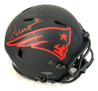 Chase Winovich Signed Patriots Full-Size Authentic On-Field Eclipse Alternate Speed Helmet (Beckett COA) at PristineAuction.com