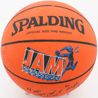 1996-1997 Wake Forest Demon Deacons Official Jam Session Game Basketball Team-Signed by (13) with Tim Duncan, Steven Goolsby, Dave Odom, Tim Fuller, Cureton Johnson, Joseph Amonett, Ricky Peral, Rodney West (Beckett LOA) at PristineAuction.com
