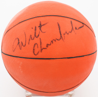 Wilt Chamberlain Signed Sport Fun Basketball (Beckett LOA) at PristineAuction.com