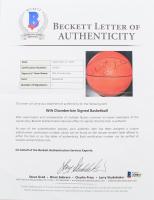 Wilt Chamberlain Signed Sport Fun Basketball (Beckett LOA) at PristineAuction.com