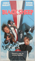 "Chris Farley Signed ""Black Sheep"" Vintage VHS Tape Cover (Beckett LOA) at PristineAuction.com"