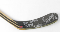 "Brian Leetch Signed Easton Full-Size Hockey Stick Inscribed ""1st Game 3 Points 4/3/04"" (YSMS COA) at PristineAuction.com"