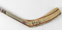 Brent Gretzky Signed Game-Used Full-Size Sher-Wood Hockey Stick (YSMS COA) at PristineAuction.com