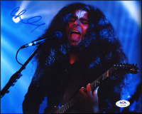 """Claudio Sanchez Signed """"Coheed and Cambria"""" 8x10 Photo (PSA Hologram) at PristineAuction.com"""