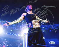 """Jeff Hardy Signed WWE 8x10 Photo Inscribed """"Take Care Forever!"""" (Beckett COA) at PristineAuction.com"""