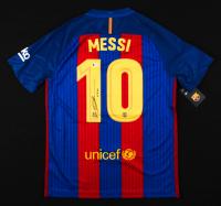 "Lionel Messi Signed Barcelona Jersey Inscribed ""Leo"" (Beckett Hologram) at PristineAuction.com"