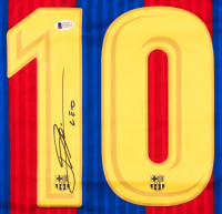 "Lionel Messi Signed Barcelona Jersey Inscribed ""Leo"" (Beckett Hologram) at PristineAuction.com"