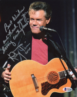 "Randy Travis Signed 8x10 Photo Inscribed ""Best Wishes And Thank You For Loving Country Music"" & ""2020"" (Beckett COA) at PristineAuction.com"