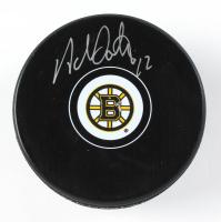 Adam Oates Signed Bruins Logo Hockey Puck (Schwartz Sports COA) at PristineAuction.com