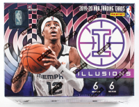 2019-20 Panini Illusions Basketball Blaster Box of (6) Packs at PristineAuction.com