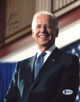 "Joe Biden Signed 8x10 Photo Inscribed ""11-4-18"" (Beckett COA) at PristineAuction.com"