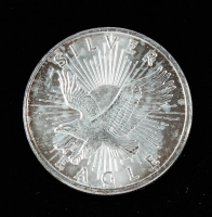 1 Troy oz .999 Silver Eagle Sunshine Minting Silver Bullion Round at PristineAuction.com
