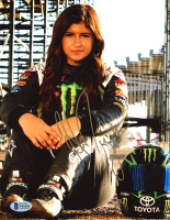 Hailie Deegan Signed 8x10 Photo (Beckett COA) at PristineAuction.com