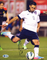 """Clint Dempsey Signed Team USA 8x10 Photo Inscribed """"USA"""" (Beckett COA) at PristineAuction.com"""