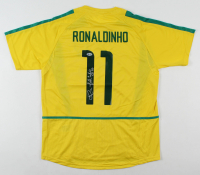 "Ronaldinho Signed Jersey Inscribed ""R10"" (Beckett Hologram) at PristineAuction.com"