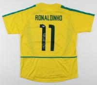 "Ronaldinho Signed Jersey Inscribed ""R10"" (Beckett Hologram) at PristineAuction.com"