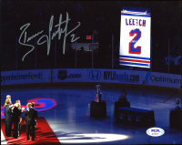 Brian Leetch Signed Rangers 8x10 Photo (PSA Holgram) at PristineAuction.com