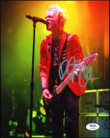 Deryck Whibley Signed Sum 41 8x10 Photo (PSA Hologram) at PristineAuction.com