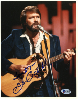 """Glen Campbell Signed 8x10 Photo Inscribed """"Love to You"""" (Beckett COA) at PristineAuction.com"""