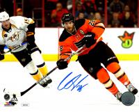 Claude Giroux Signed Flyers 8x10 Photo (JSA COA) at PristineAuction.com