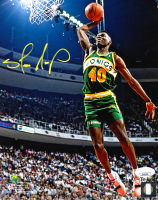 Shawn Kemp Signed SuperSonics 8x10 Photo (JSA COA) at PristineAuction.com