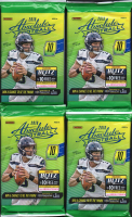 Lot of (4) 2018 Panini Absolute Football Retail Packs with (10) Cards Per Pack at PristineAuction.com