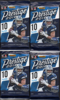 Lot of (4) 2018 Panini Prestige Football Retail Packs with (10) Cards Per Pack at PristineAuction.com