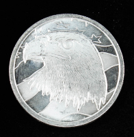 1 Troy oz .999 Pledge of Allegiance Silver Bullion Round at PristineAuction.com